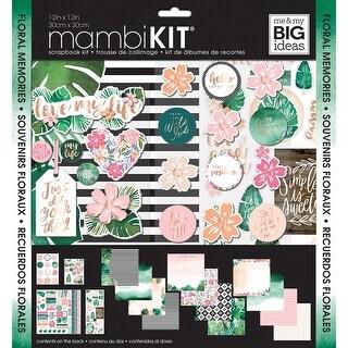 "Me & My Big Ideas Page Kit 12""X12""-Mod Greenery"