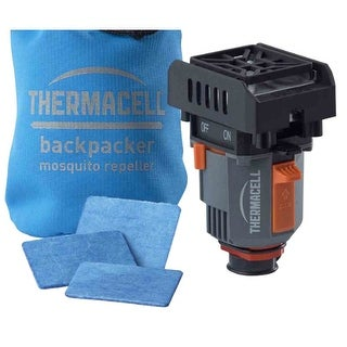 Thermacell MRBP Backpacker Mosquito Repeller w/ 3 Repellent Mats & Water Resistant Pouch