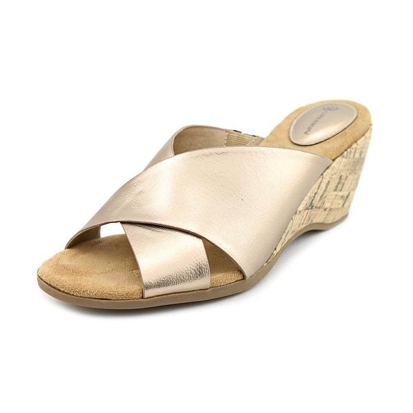 Giani Bernini Carolima Women Oro Sandals