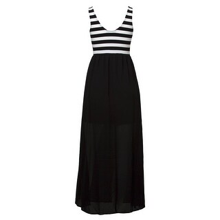 Gravity Threads Striped Maxi Dress