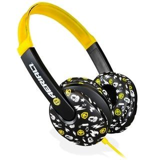Aerial7 Arcade Children's Headphones - Pakman (Yellow)