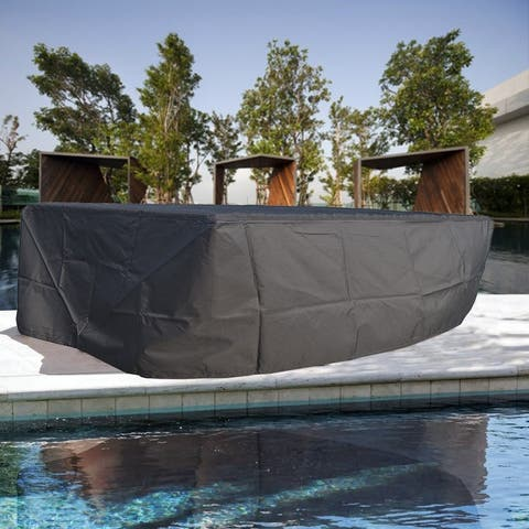 Square Furniture Waterproof Cover Outdoor Sofa Set Cover