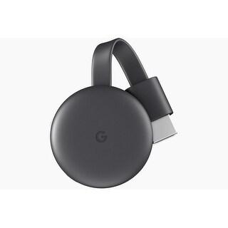 Google Chromecast 3rd Generation Latest Model (Charcoal)