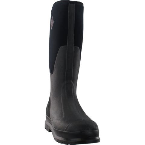 "Muck Boot Chore Tall Outdoor Womens Boots Knee High Low Heel 1-2"""