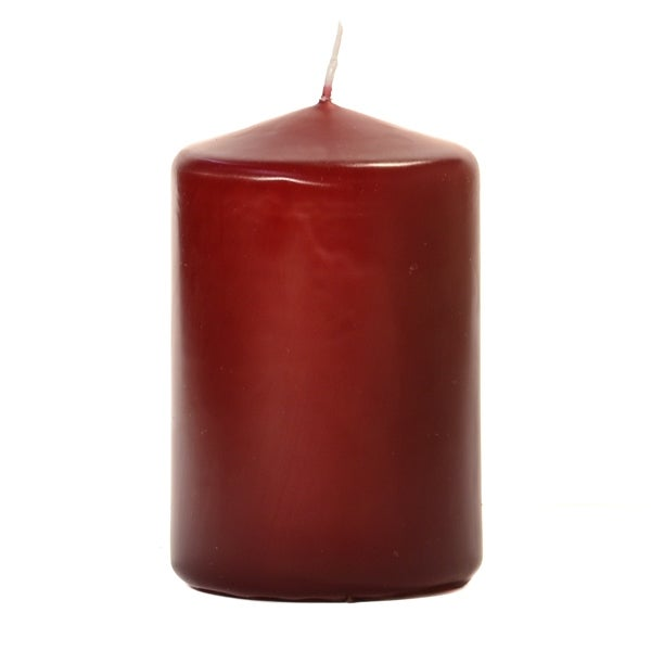 1 x Red Pillar Candle 100 Hours Burn Time