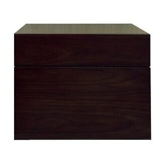 "Sagehill Designs MT1818D Modesta Walnut 18"" Wall Mount Wood Vanity Cabinet Only"