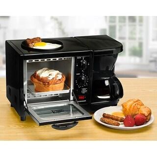 Elite EBK-200B Cuisine 3-in-1 Multifunction Breakfast Center