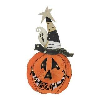 Northlight 32618607 Battery Operated Pumpkin Halloween Decoration