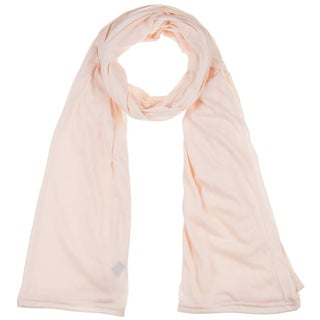 Women's Jersey scarves fashion long plain scarf wrap shawls hijab (Option: Beige)