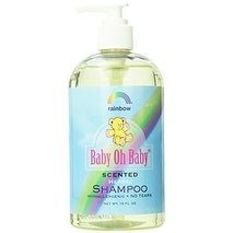 Rainbow Research Scented Organic Herbal Shampoo, 16 Fluid Ounce