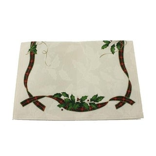 Lenox Holiday Nouveau Jacquard Reversible Placemat