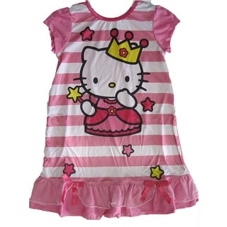 93056126f Top Product Reviews for Hello Kitty Little Girls Pink Princess Print ...