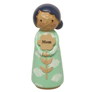 "Japanese Kokeshi Dolls - Mom - 4.5"" High - 4 in."