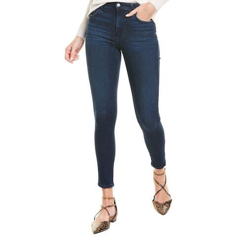 Joe's Jeans The Charlie Golden Metallic Ankle Cut Jean