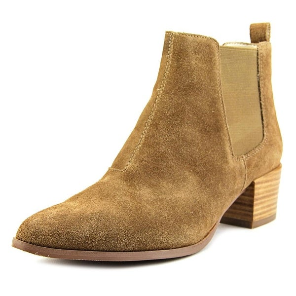 754ba72fda2 Shop Steve Madden Vanity Women Pointed Toe Suede Tan Bootie - Free ...