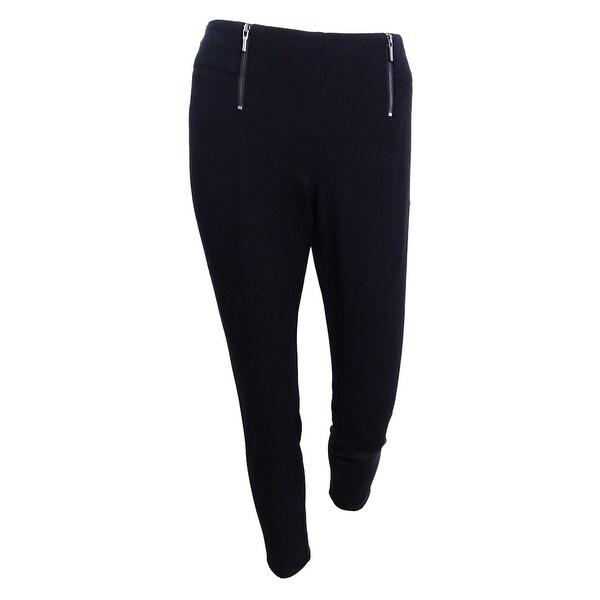 Alfani Women's Petite Printed Skinny Pants