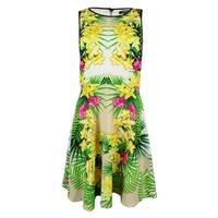 XOXO Juniors' Sleeveless Floral Print Dress - Multi - 5/6
