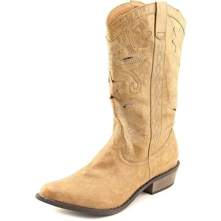 Coconuts By Matisse Dusty Women Round Toe Synthetic Western Boot