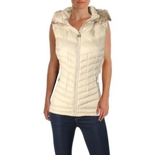 MICHAEL Michael Kors Womens Outerwear Vest Down Puffer