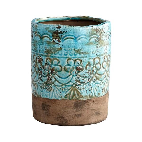 Cyan Design Small Geneva Vase Geneva 9.25 Inch Tall Terracotta Vase - N/A