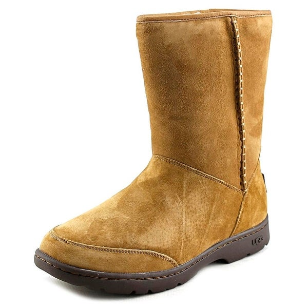 Ugg Australia Michaela Women Round Toe Suede Brown Winter Boot