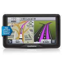 Garmin RV 760LMT GPS Vehicle Navigation System w/ Free Lifetime Map Updates & FM Traffic Included