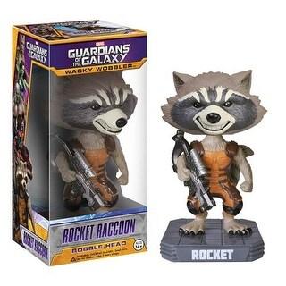 Guardians Of The Galaxy Rocket Raccoon Funko Marvel Wacky Wobbler - multi
