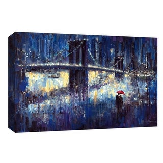"""PTM Images 9-148028  PTM Canvas Collection 8"""" x 10"""" - """"Evening Romance"""" Giclee Carnivals & Fairs Art Print on Canvas"""
