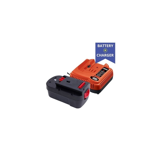 Replacement Black and Decker BDFC240 Charger Plus Replacement Black and Decker HPB18 Battery (Combo Pack) Black And Decker /