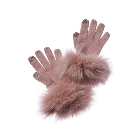 Sofiacashmere Tech Cashmere Gloves