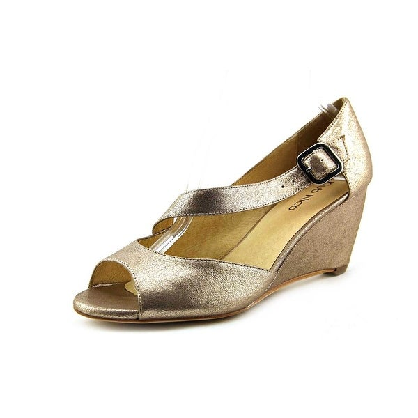 Klub Nico Kypsy Women Open Toe Leather Wedge Sandal