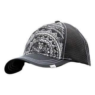 Cruel Girl Western Hat Womens Snap Trucker One Size Black CCC0020024