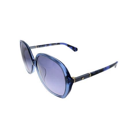 Kate Spade KS Atalina/F/S JBW Womens Blue Frame Grey Gradient Lens Sunglasses