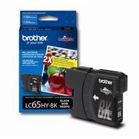 brother Q77126B LC65HYBK High-Yield Ink Cartridge, 900 Page-Yield, Black
