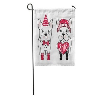 Overstock Cute Dog In Winter French Bulldog Puppy For Pets Garden Flag Decorative Flag House Banner 12x18 Inch Winter From Overstock Com Daily Mail