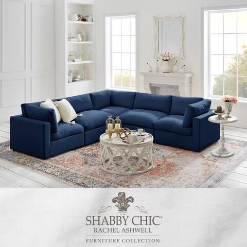Braeden Modular L-Sectional Linen Sofa