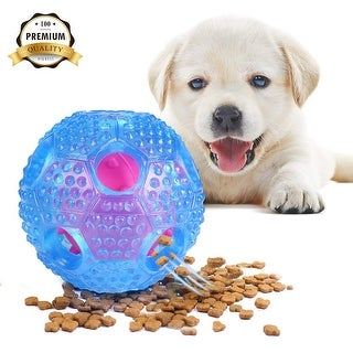 Dog Toy Balls Interactive Dog Toy IQ Training Ball Food Dispensing Toys Dog Chew Ball Toy Leak Food Toys Dogs