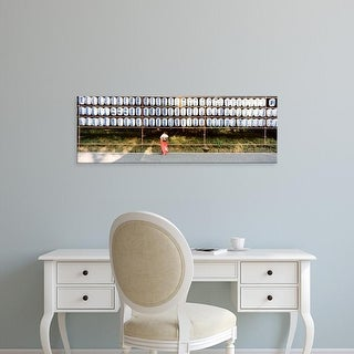 Easy Art Prints Panoramic Images's 'Shinto Shrine, Tokyo, Japan' Premium Canvas Art