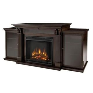 Real Flame 7720E Calie Entertainment Center Electric Fireplace - Dark Espresso