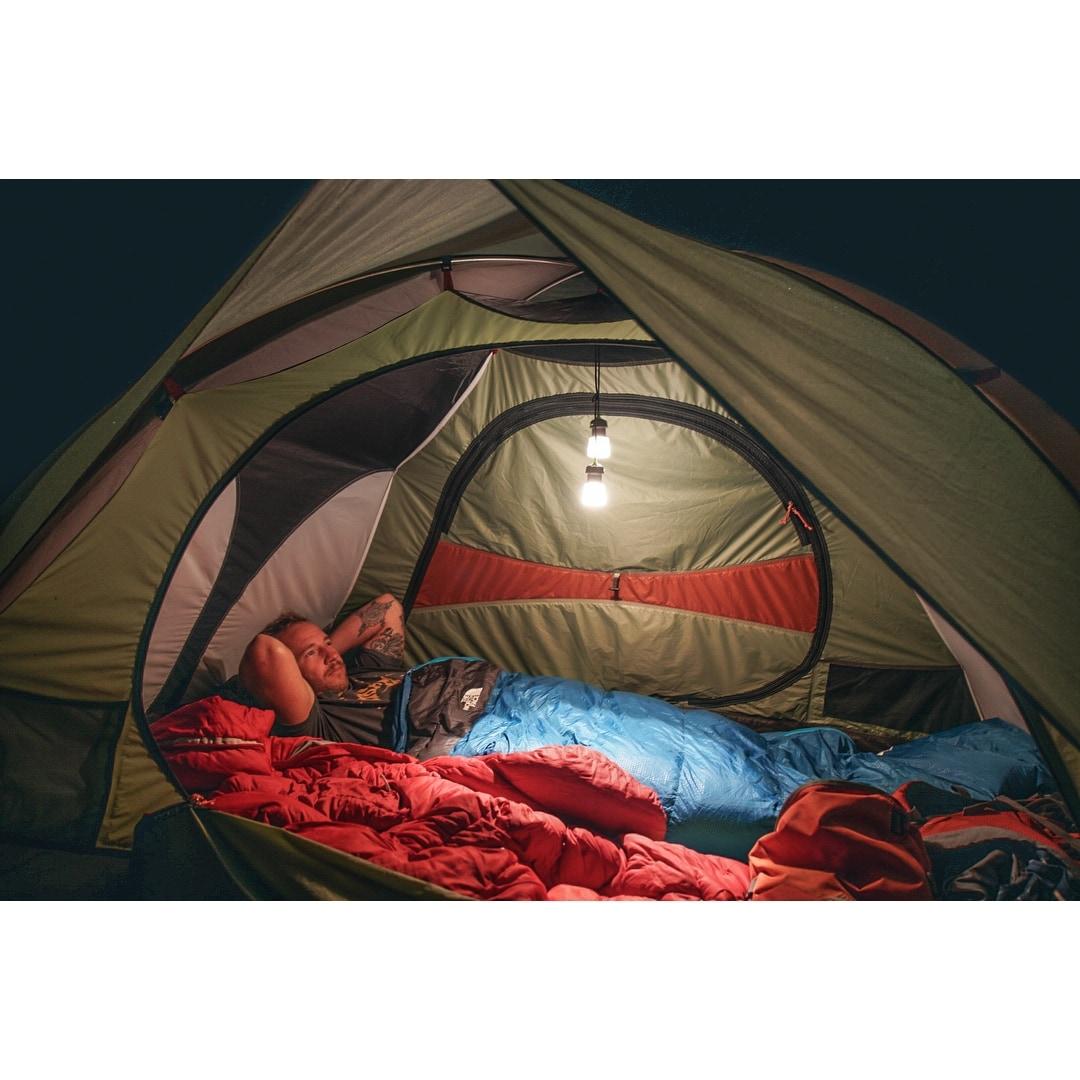 910271E Compact Hang Lumavine 2 Piece Mini Camping Lantern Rechargeable