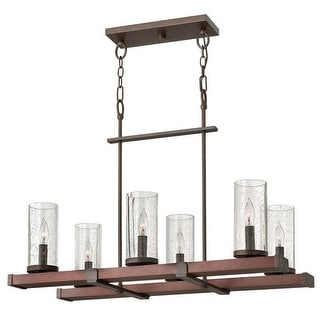 Fredrick Ramond FR40206 6 Light 1 Tier Chandelier from the Jasper Collection - rustic iron