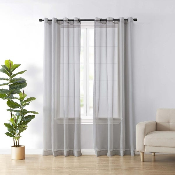 Arm and Hammer Curtain Fresh Odor-Neutralizing Single Curtain Panel. Opens flyout.