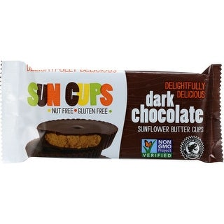Sun Cups Sun Cups, Dark Chocolate, 1.5 Oz (Pack Of 12)