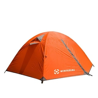 Winterial 2 Person Tent / Easy Setup Lightweight Camping and Backpacking 3 Season Tent / Compact / Tents For Camping 2 Person
