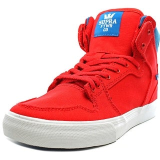 Supra Vaider Boy Red/Royal-White Athletic Shoes