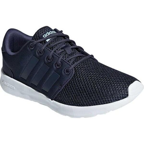 3779d7ab54 Shop adidas Women's Cloudfoam QT Racer Sneaker Trace Blue/Trace Blue ...