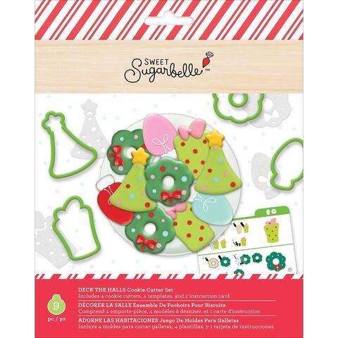 Sweet Sugarbelle Cookie Cutter Set 9/Pkg-Deck The Halls