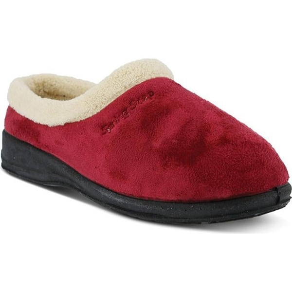 Spring Step Women's Ivana Bordeaux Micro Suede