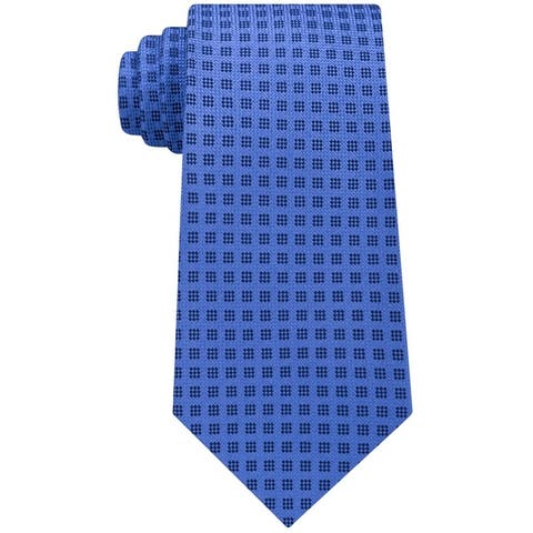Michael Kors Mens Stitched Self-Tied Necktie - One Size