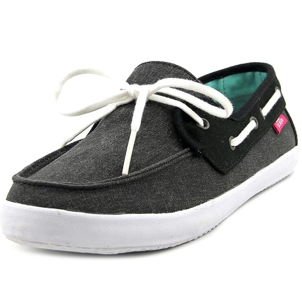 Vans Chauffette Women Black/Fucsia Purple Flats